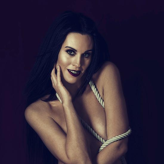Výrazný make-up na focení, glowy skin