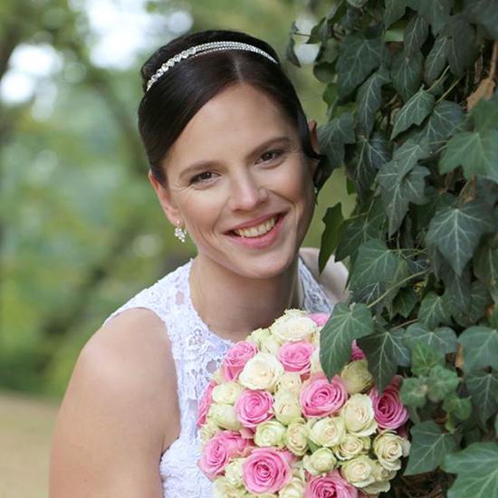 Velmi jemné svatební líčení pro nevěstu