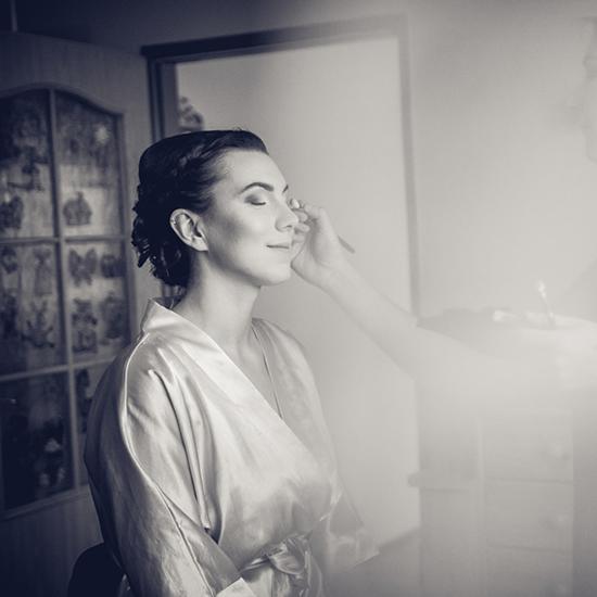 Jak vzniká make-up pro nevěstu