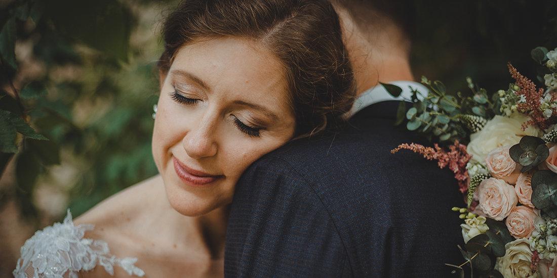 jemné svatební líčení