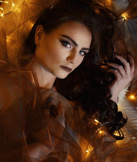 foto makeup světýlka