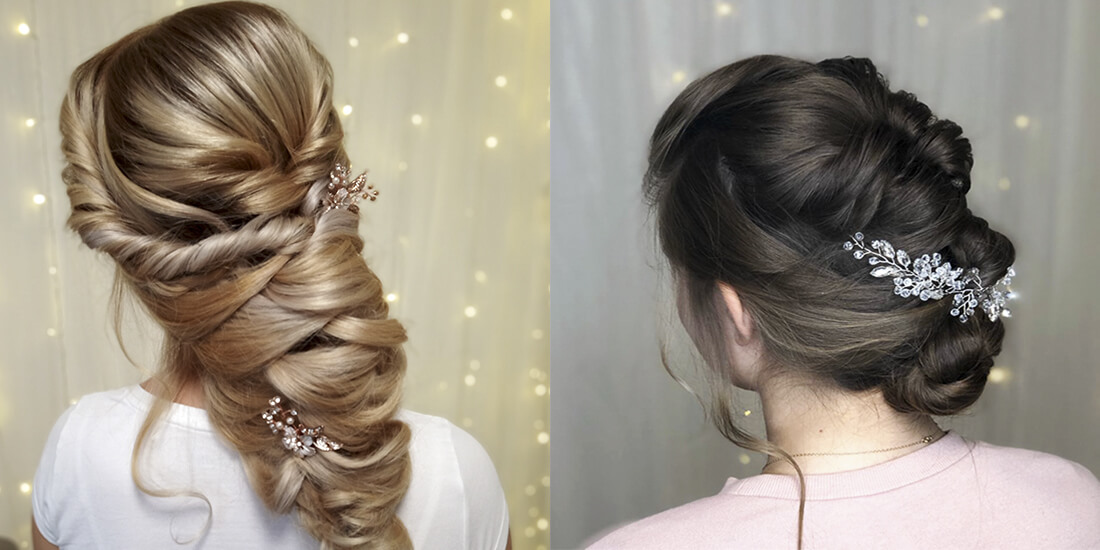 svatební účesy z dlouhých vlasů