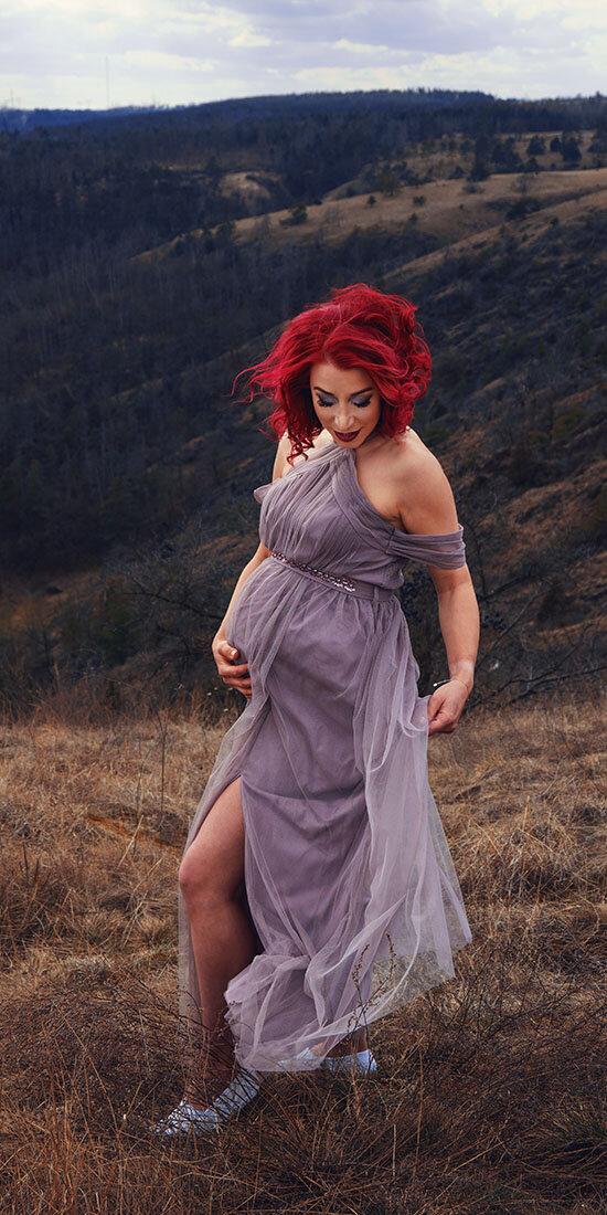 těhotenské focení mohelenská hadcová step